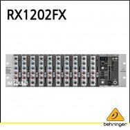 RX1202FX/마이크 프리앰프/브리티쉬 EQ/멀티 FX프로세서와 프리미엄 12입력 Mic/라인랙믹서