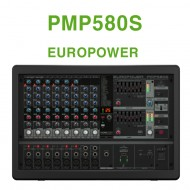 PMP580S /멀티-FX 프로세서,컴프레서,FBQ 피드백보호시스템, 무선 옵션장치가 장착된 500와트,10채널 파워믹서앰프