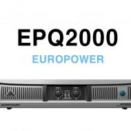 EPQ2000 /ATR기술이 탑재된 프로페셔널 2000W, 경량 스테레오 파워 앰프