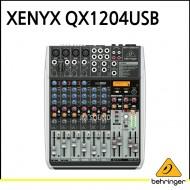 QX1204USB/프리미엄 12입력 2/2버스 믹서, 제닉스 마이크 프리앰프, 컴프레셔, KLARK TEKNIK 멀티 FX 프로세