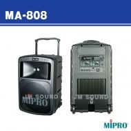 MA-808 /충전식 무선마이크1개사용 500와트