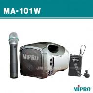MA-101W /충전식,무선마이크1채널,50와트 동급 최강 파워의 이동형 무선 앰프