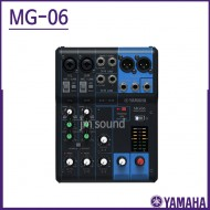MG06/야마하(YAMAHA)/믹서 6채널 2 Mic Inputs 2 Band