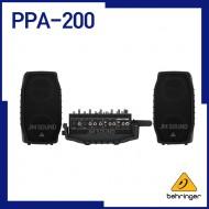 PPA-200,베링거,울트라컴팩트,200와트,포터블PA시스템,KLARKTEKNIK 멀티FX,5채널,피드백제어시스템