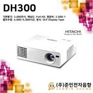 DH300/히타치 빔프로젝터, Full HD의 고해상도, 기본밝기 3000안시