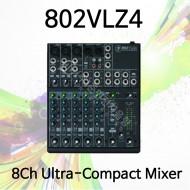 802VLZ4/8채널 울트라 컴팩트 믹서
