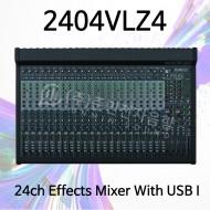 2404VLZ4/24채널 4-bus FX믹서/USB