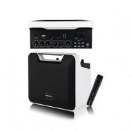 AL-007R/USB/SD Card/블루투스/녹음/초소형무선마이크/뮤트기능/파워포인트/충전형/100와트