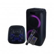 카날스 BSW-8900 PA충전용 블루투스 스피커/녹음/USB/TF/MP3플레이어/블루투스2대동시연결가능/400와트