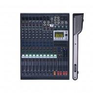 카날스 BKG-120  전문가용 이펙트 오디오믹서 디지털이펙터 16채널 팬텀내장 랙포함