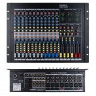 카날스 BKX-207G 프로페셔널 16채널 4그룹 데스크탑 오디오믹서